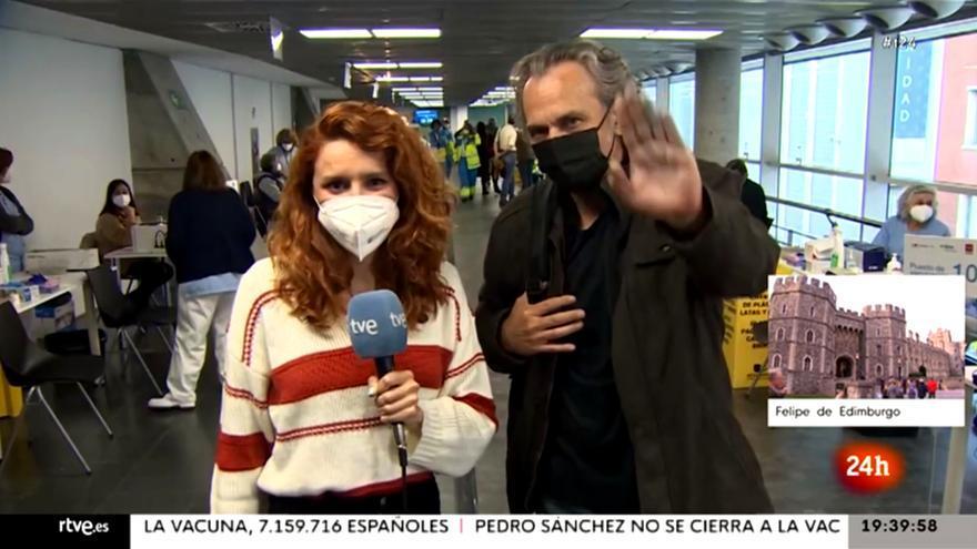 José Coronado en el Canal 24H