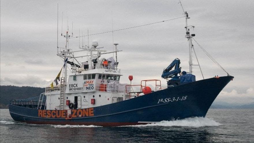 SMH pide autorización para que el Aita Mari pueda responder a la emergencia que está ocurriendo en las islas del Egeo