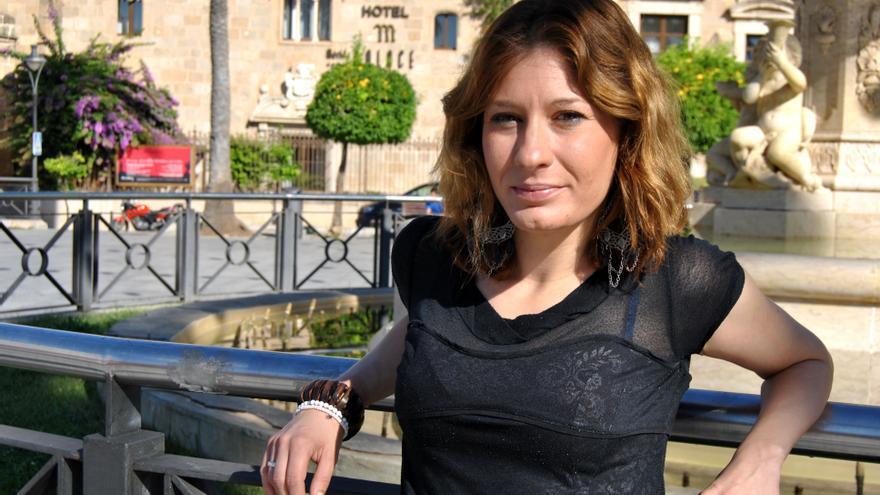 Ana María, 32 años, separada y con dos hijos a su cargo, no pierde la esperanza de encontrar un trabajo