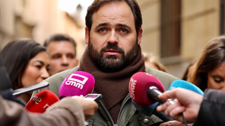 Paco Núñez, presidente del PP en Castilla-La Mancha, hoy en Toledo
