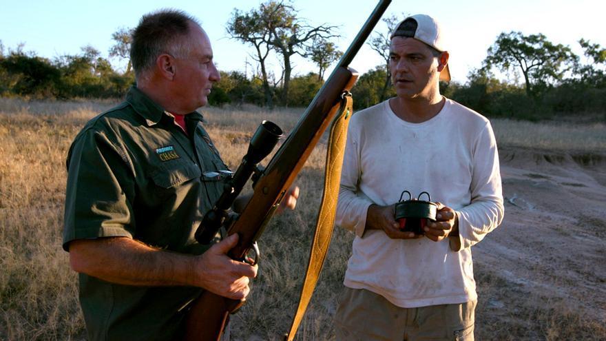 """Frank Cuesta en """"Wild Frank: cazadores"""""""