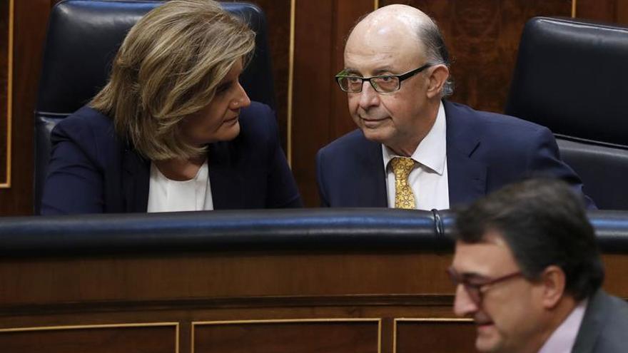 """Báñez dice que la Seguridad Social tiene su """"esperanza"""" en el Pacto de Toledo"""