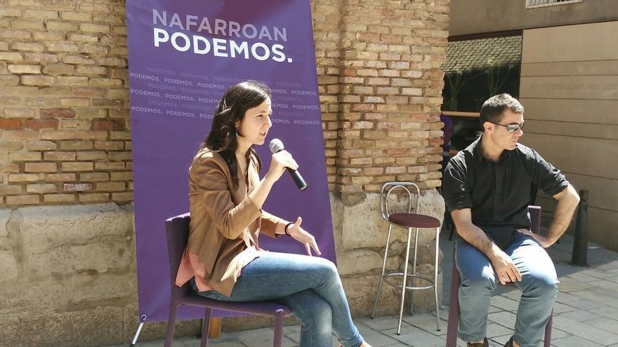 """Ione Belarra (Podemos) dice que el 26J """"la ciudadanía elegirá entre Rajoy o Pablo Iglesias como presidente"""""""