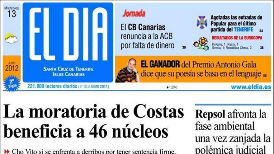 De las portadas del día (13/06/2012) #4