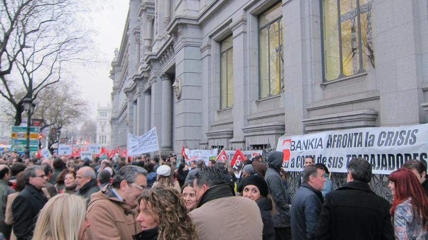 """El Gobierno defiende que el ERE de Bankia se ha realizado """"con pleno respeto"""" a los pactos y a la normativa"""