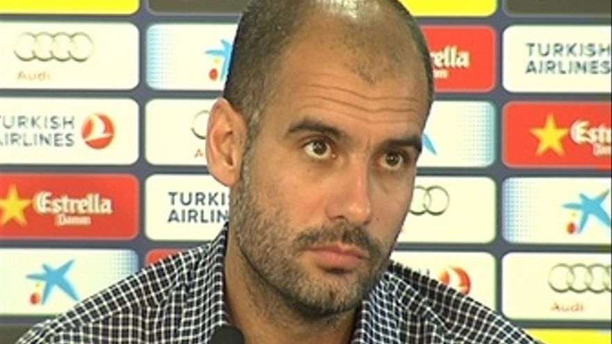 Rueda De Prensa De Josep Guardiola, Entrenador Del Barça