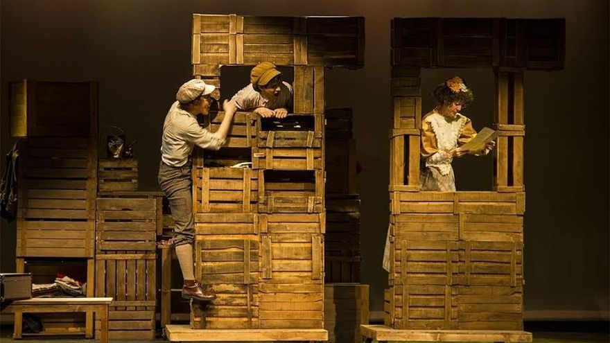 El espectáculo Tom Sawyer Detective empieza su gira española en el Teatro Gayarre de Pamplona