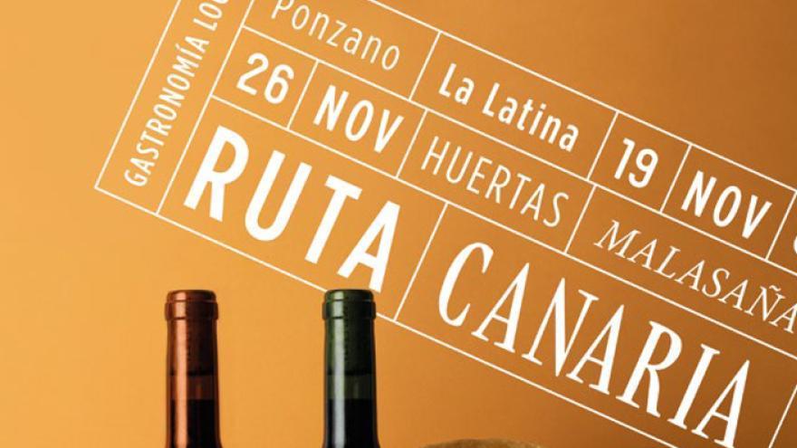 Cartel de la campaña desplegada en restaurantes de Madrid