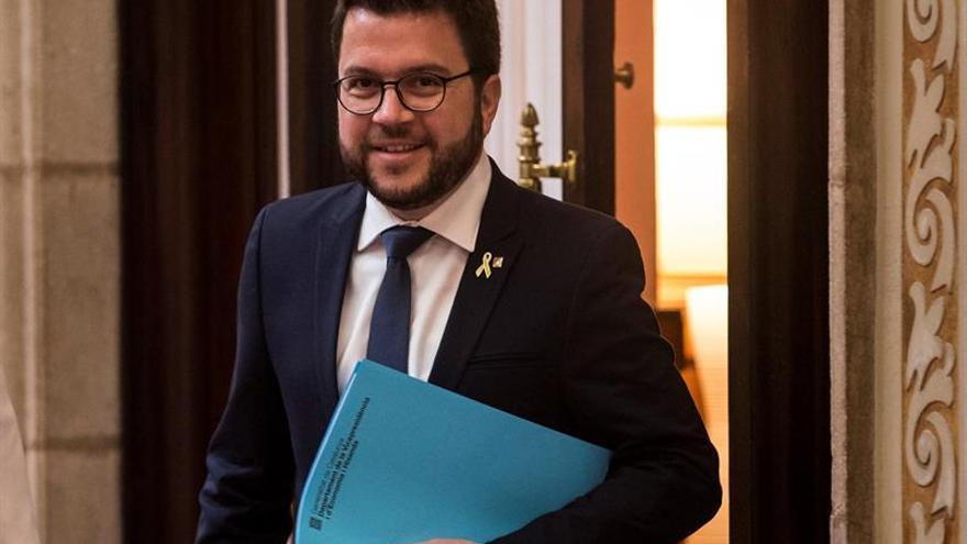 El vicepresidente catalán se verá mañana con Calvo y Montero en Madrid