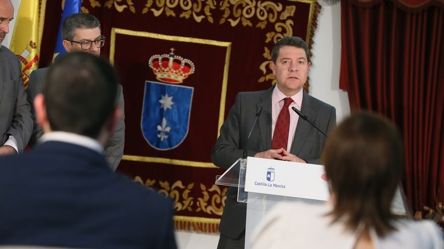 Emiliano García-Page en Motilla de Palancar, Consejo de Gobierno itinerante