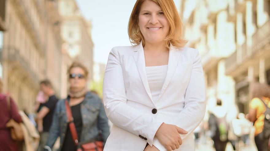 Silvia Barquero, presidenta del Partido Animalista (PACMA) y candidata a la alcaldía de Tordesillas (Valladolid).