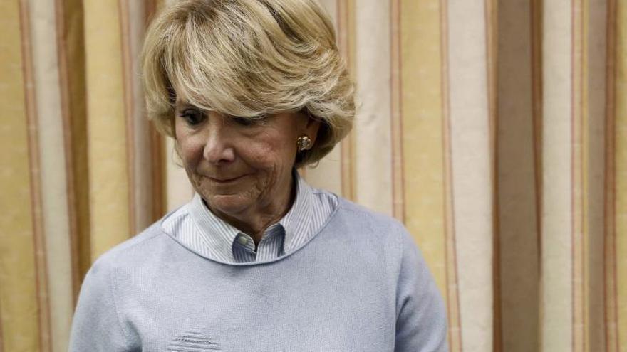 El PSOE pide imputar a Esperanza Aguirre en el caso Lezo por un campo de golf