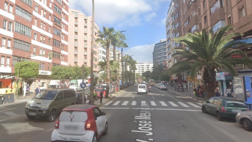 Avenida Mesa y López en Las Palmas de Gran Canaria