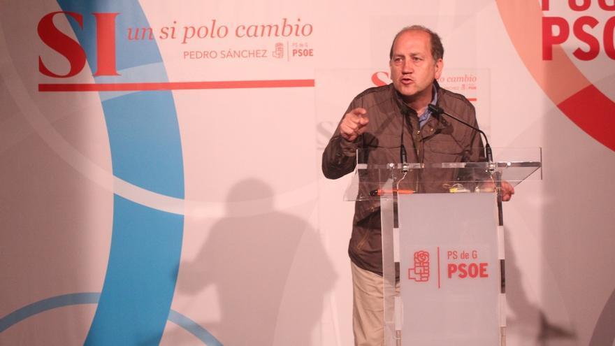 """Leiceaga (PSdeG), partidario de dar un no a Rajoy en la """"primera fase"""" y después analizar si asume demandas socialistas"""