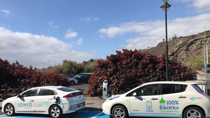 El Cabildo apuesta por los vehículos eléctricos.