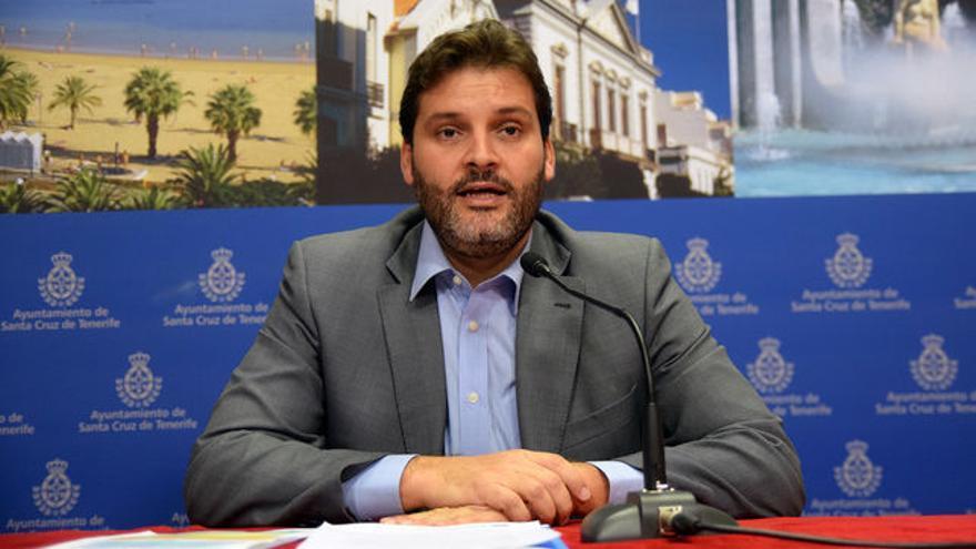 José Ángel Martín, portavoz socialista en Santa Cruz