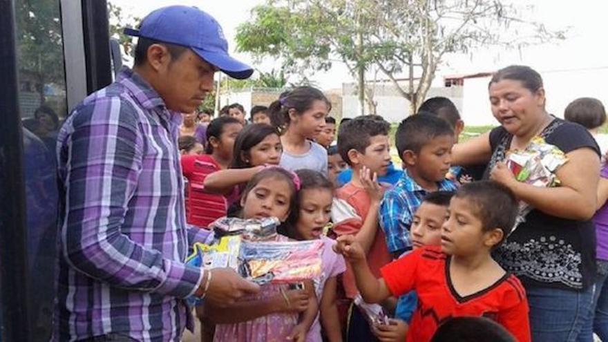 Gumaro Pérez Aguilando en una foto de su cuenta en Facebook.