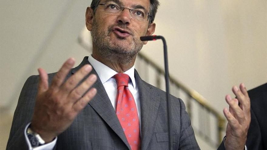 """El ministro Catalá pide no """"sacar conclusiones anticipadas"""" sobre Barberá"""