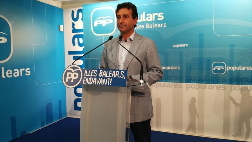 PP balear pedirá las actas a Gijón quien seguirá de momento como diputado del grupo mixto y como regidor no adscrito