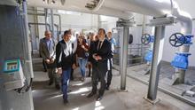 El alcalde de Las Palmas de Gran Canaria, Augusto Hidalgo y el consejero de Agricultura, Ganadería, Pesca y Aguas, Narvay Quintero formalizaron la entrega de las nuevas instalaciones hidráulicas.