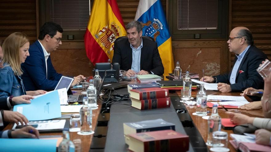 Reunión del Consejo de Gobierno de Canarias presidida por Fernando Clavijo