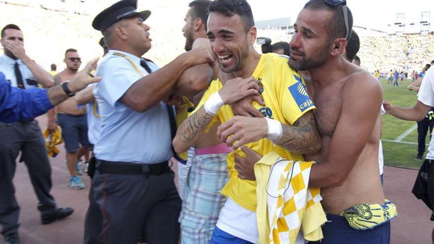 Incidentes en el partido entre Las Palmas y el Córdoba