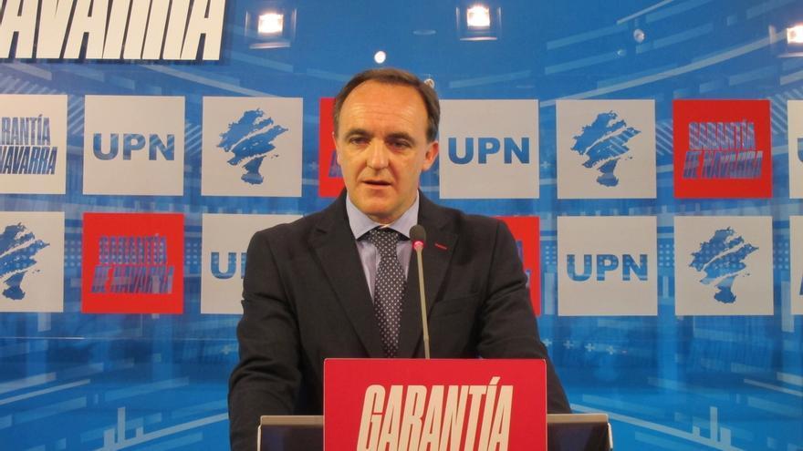 """Esparza afirma que va a liderar una """"nueva etapa"""" en UPN, """"respaldado"""" por el conjunto del partido"""