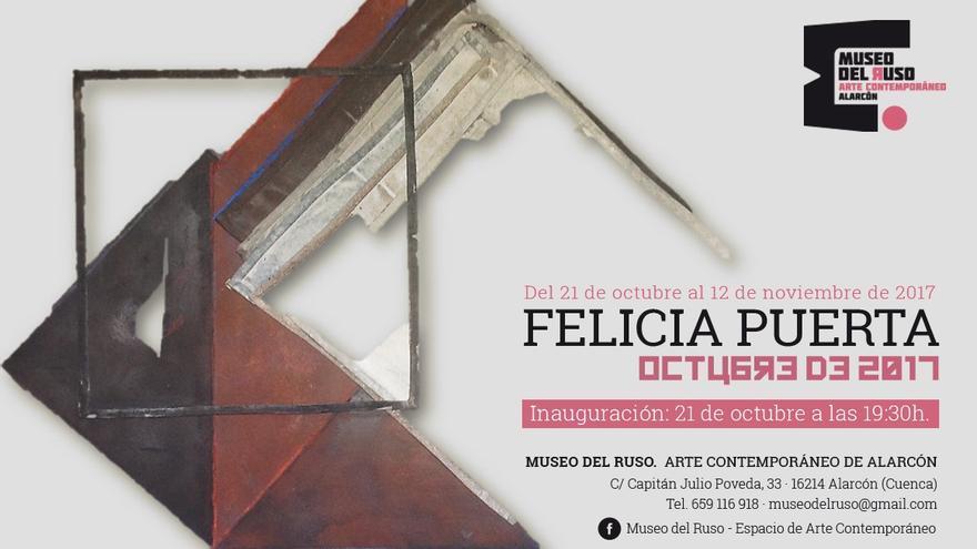 Cartel exposición Felicia Puerta
