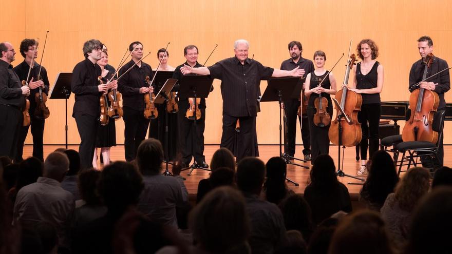 Concierto de los solistas de la Orquesta de Cámara Reina Sofía y Nicolás Chumachenco. Foto: Dominic Dähncke.