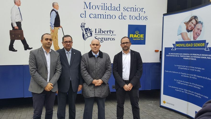 Bilbao acoge hasta el viernes talleres y actividades para concienciar sobre la seguridad vial en personas mayores