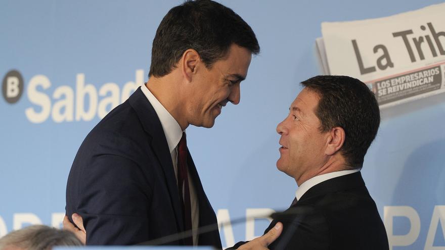 Pedro Sánchez y Emiliano García-Page en Toledo / Foto: PSOE