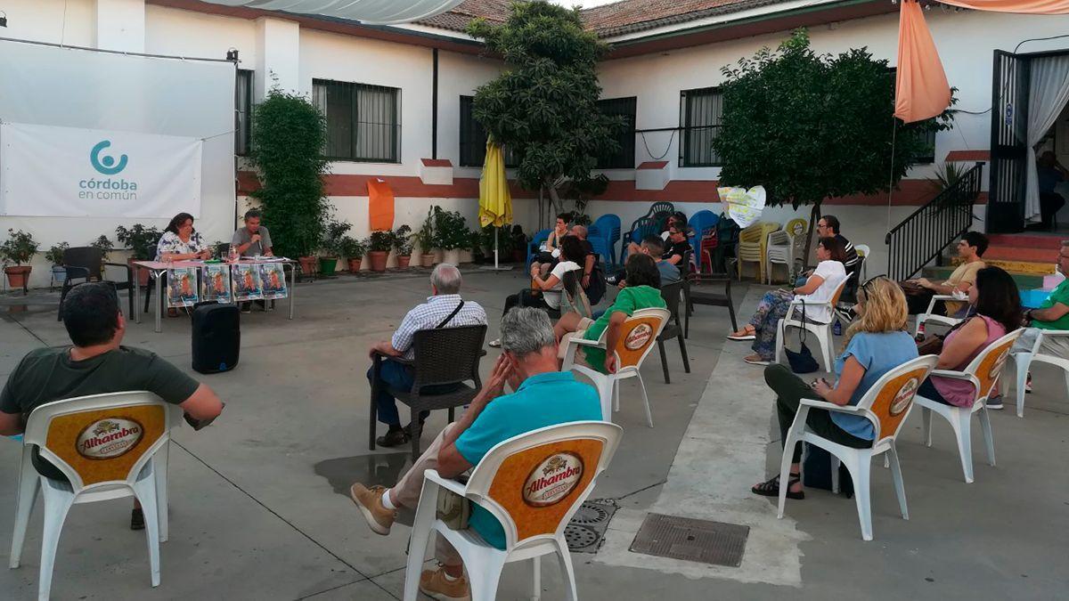Asamblea de Córdoba en Común la pasada semana.