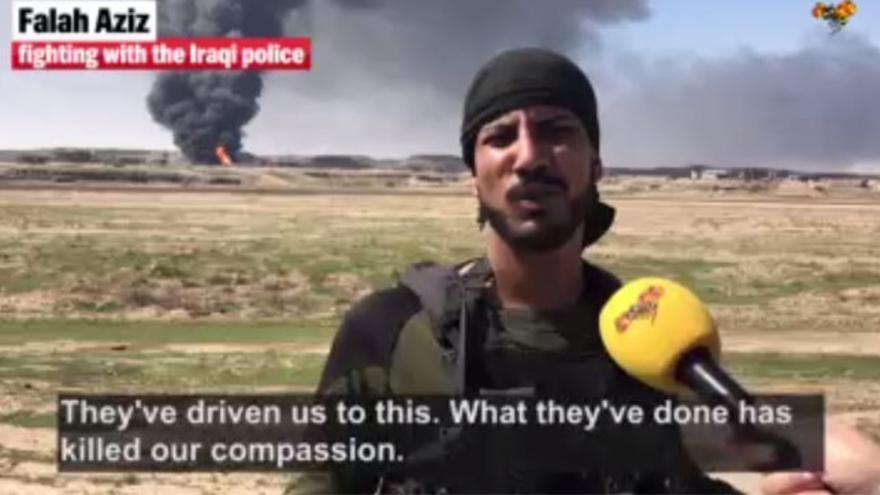 "Falah Aziz, el ""verdugo"" iraquí que decapita a terroristas del ISIS"