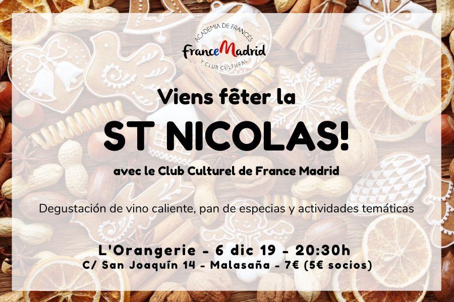 Celebra San Nicolás y practica idiomas con France Madrid