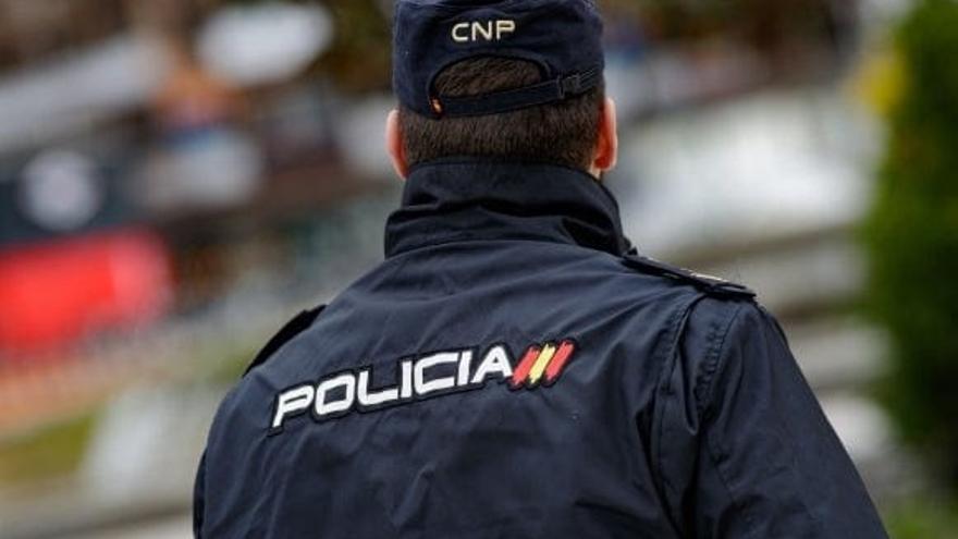 Imagen de archivo de un Policía Nacional.