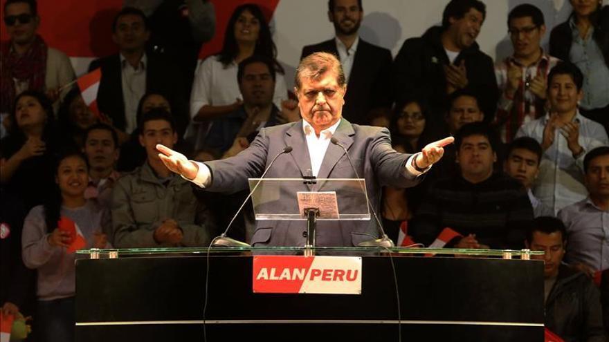 El Congreso confirma que el Poder Judicial excluyó a Alan García de las investigaciones