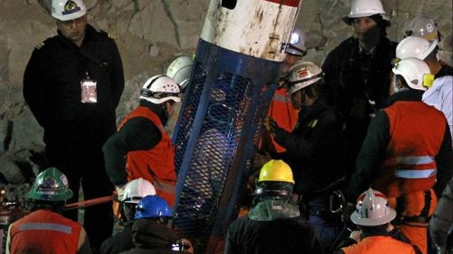 Del rescate en la mina chilena #7