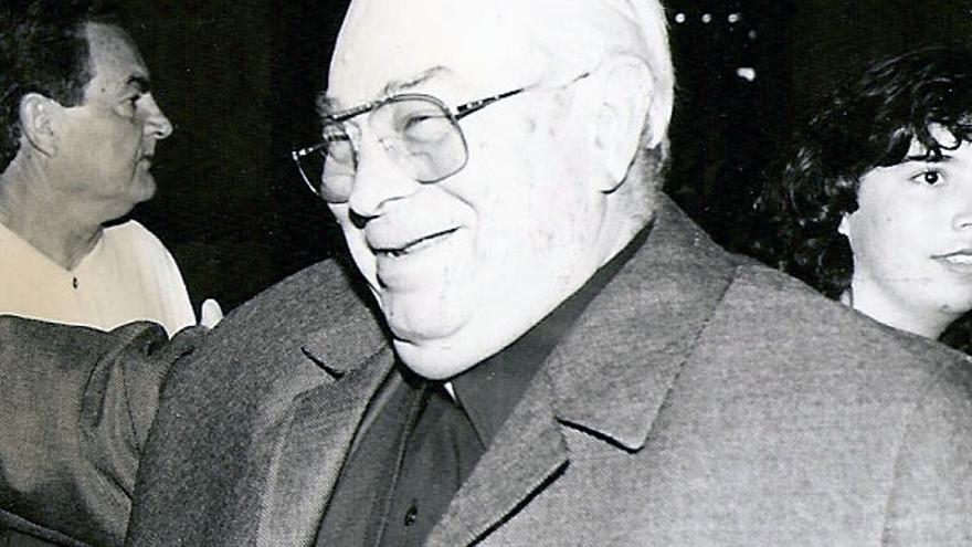 Imagen de archivo de José Siverio Pérez, sacerdote y periodista