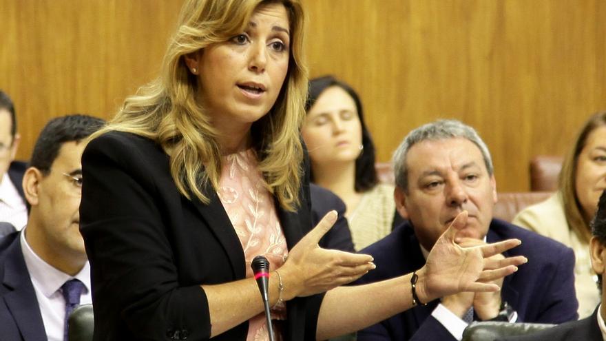 """Díaz espera que IU-CA disipe sus """"dudas"""" sobre el tema de regularizar viviendas, que alguien ha utilizado con """"malicia"""""""