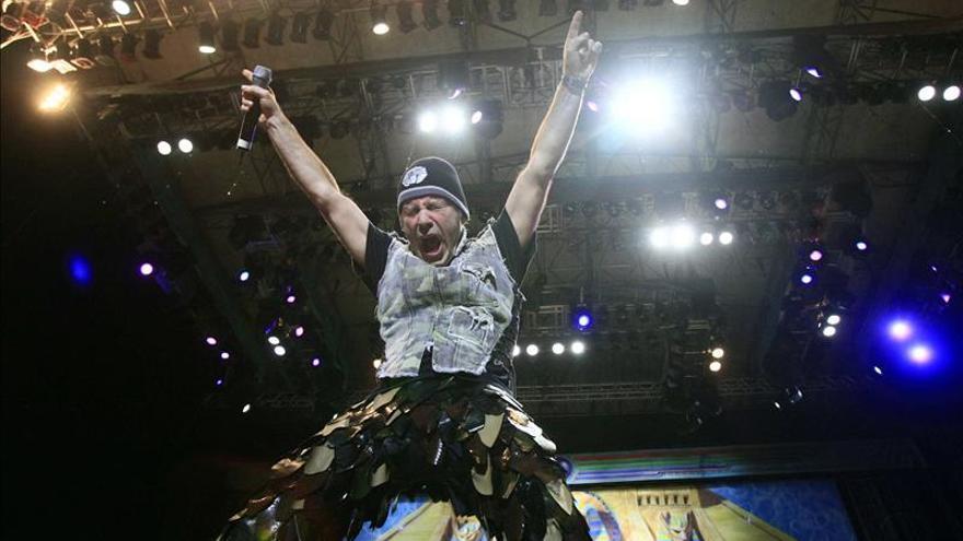 Iron Maiden abre mañana su gira europea en Bilbao