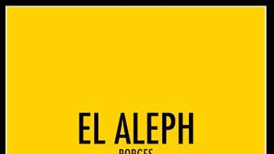 """Portada """"Comentarios literarios: El aleph"""""""