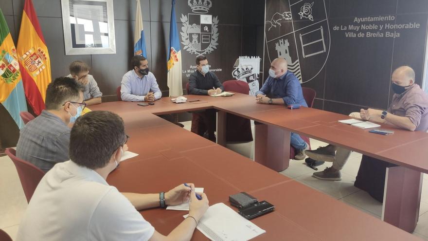 Gesplan aborda nuevas vías de colaboración con los municipios de Santa Cruz de La Palma y Breña Baja