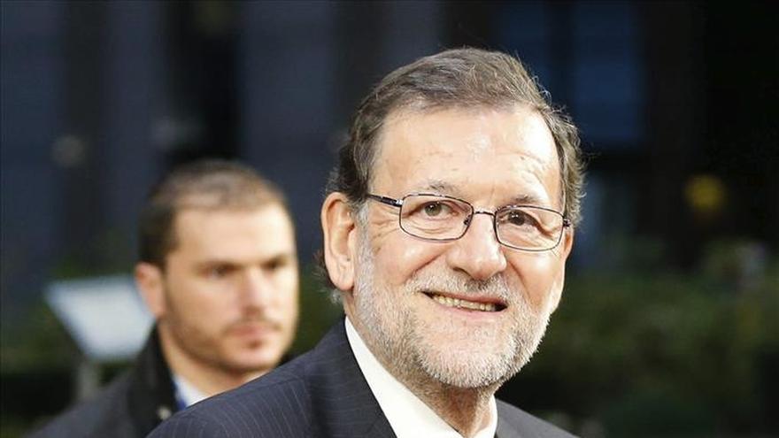 Rajoy llega a Bruselas para participar en la última cumbre del año de la UE