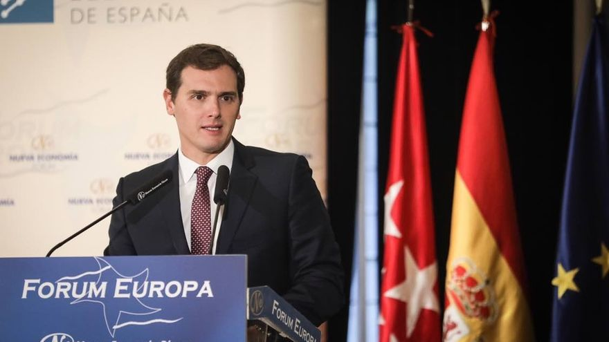 """Rivera afirma que en los colegios públicos catalanes """"no se puede estudiar en español"""""""