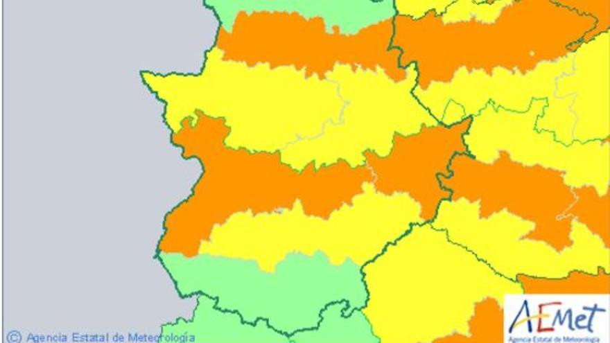 Aviso de la ola de calor para este lunes en Extremadura