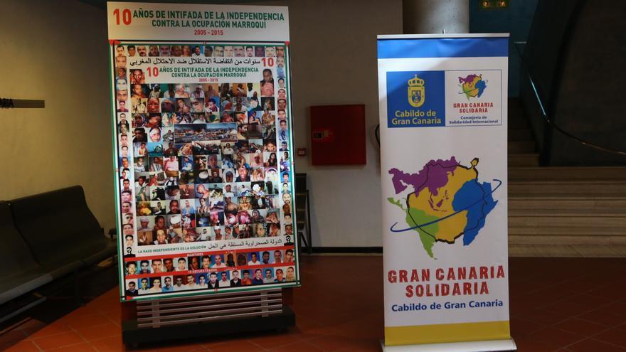 Conferencia de Ciudades Solidarias con el Pueblo Saharahui en Gran Canaria (ALEJANDRO RAMOS)