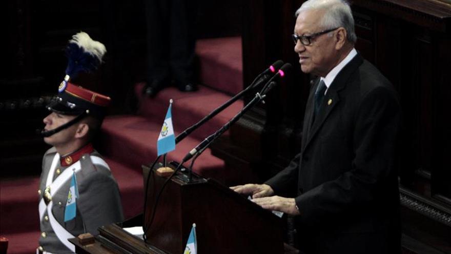 El presidente de Guatemala evoluciona de forma satisfactoria tras una operación