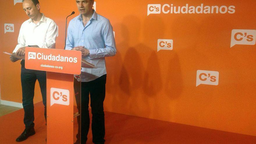 Toni Cantó presenta junto a Vicente Ten la campaña de Ciudadanos en Valencia