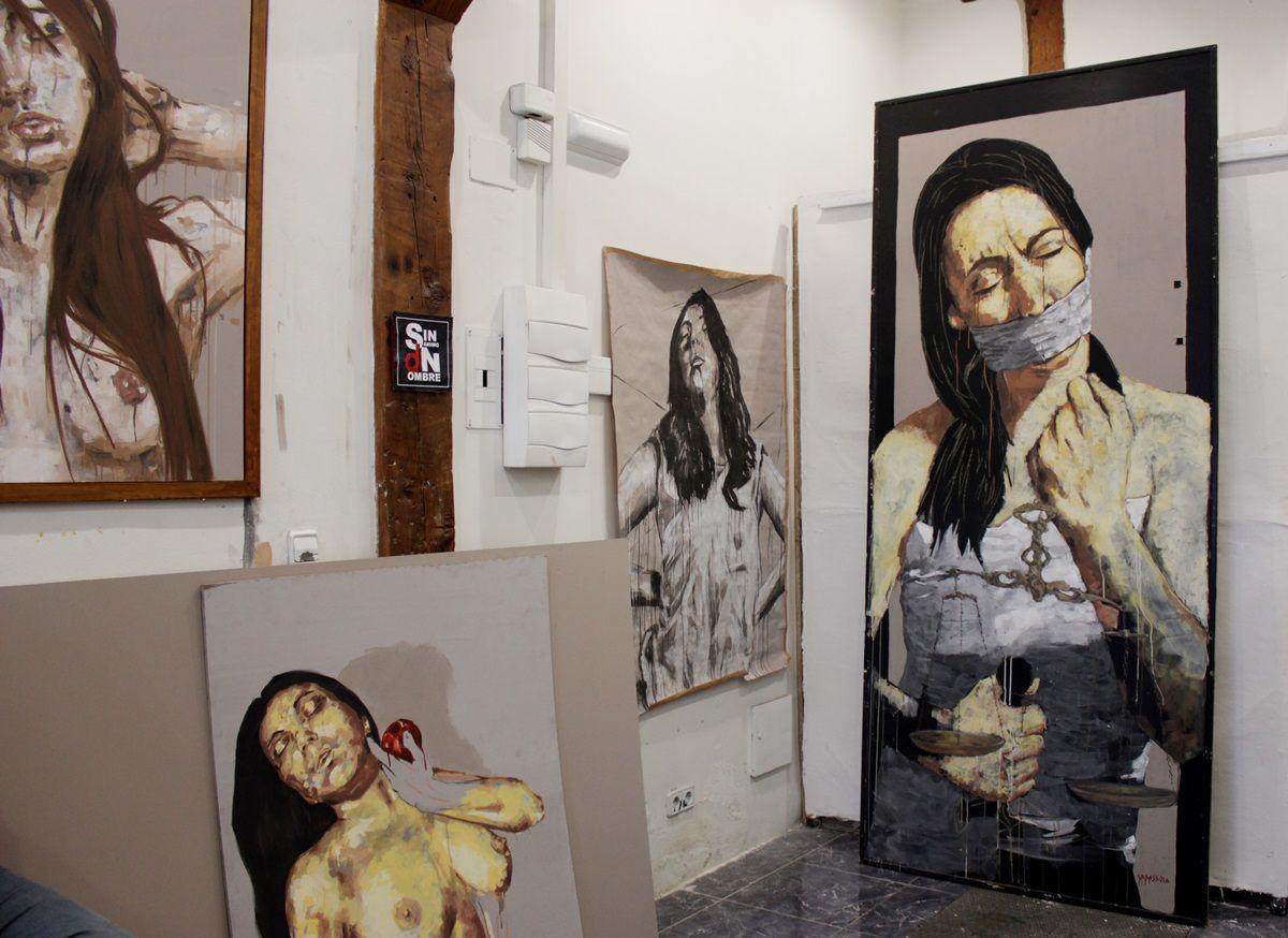 Obras en el taller de Casassola | RAQUEL ANGULO