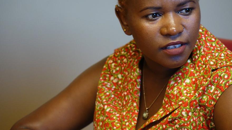Rosebell Kagumire, periodista, bloguera y consultora ugandesa